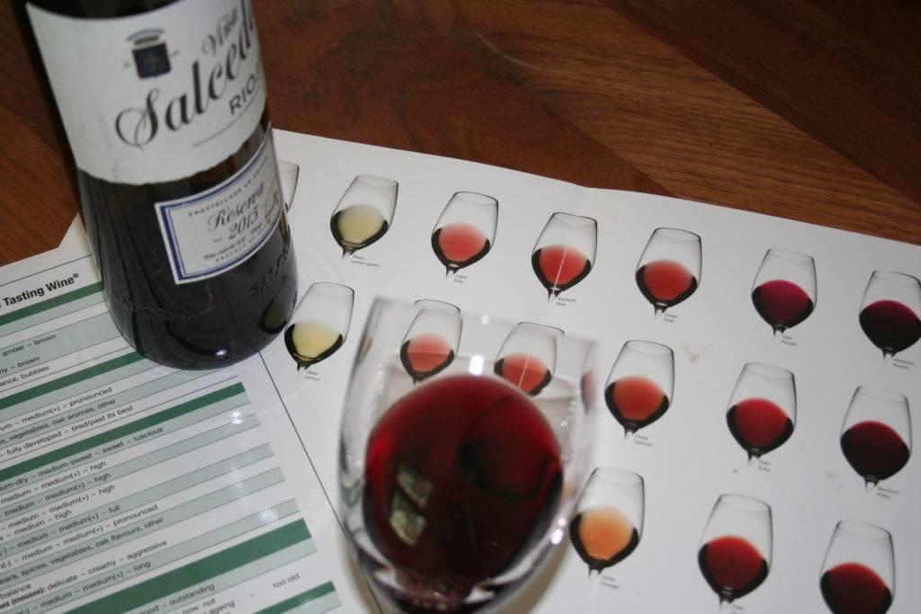 WSET wijn beoordelen