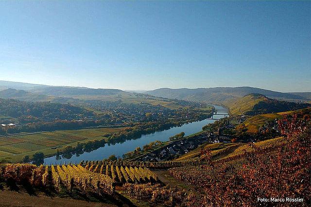 Mooiste uitzicht wijngebied Mosel:Heldensicht