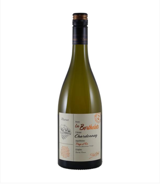 Witte wijn Bertholets Chardonnay Reserve