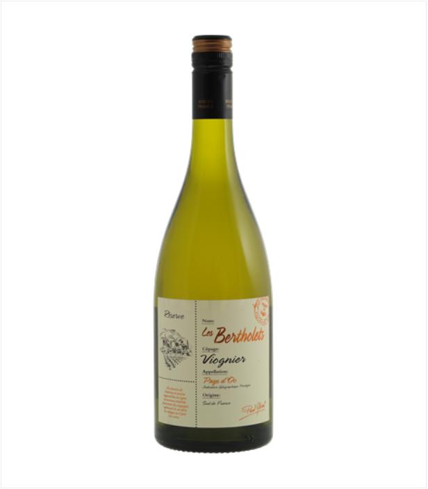 Witte wijn Bertholets Viognier