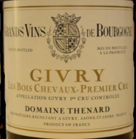 Cote Chalonnaise Givry