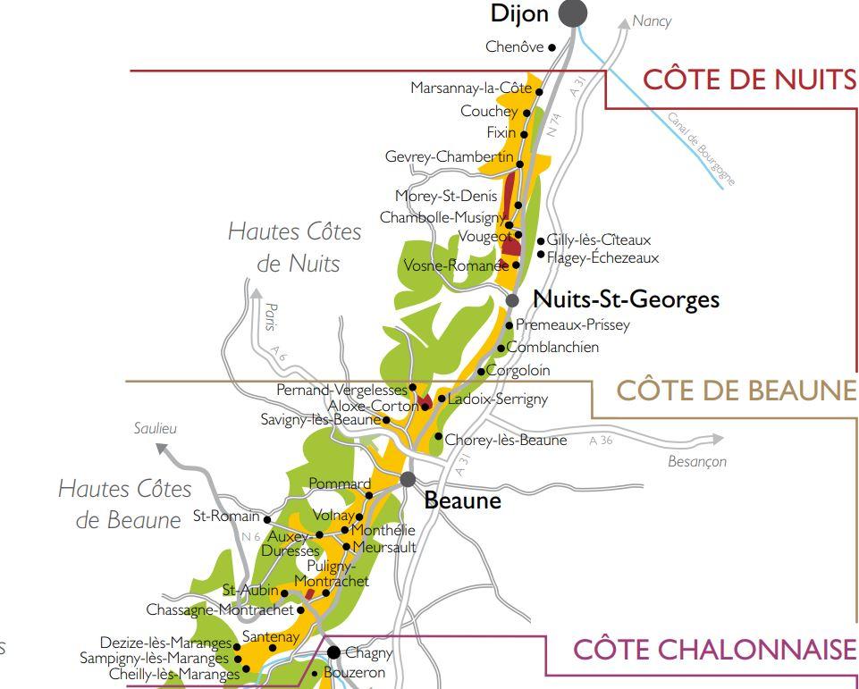 Exclusieve Bourgogne de côte d'Or