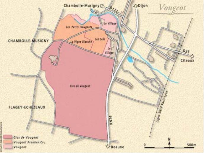 Exclusieve Bourgogne: Clos de Vougeot