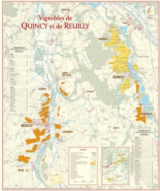 Quincy et Reuilly