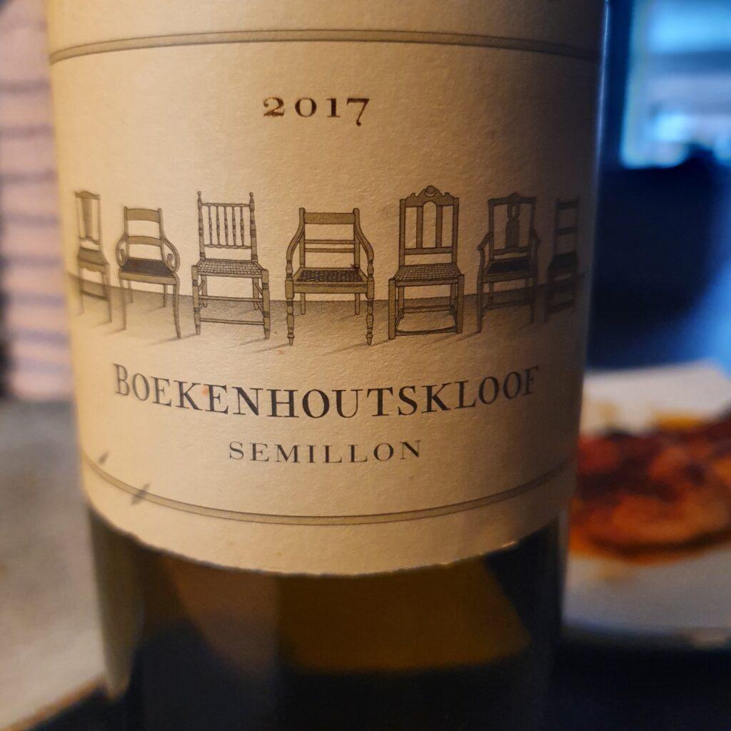 Boekenhoutskloof Semillon